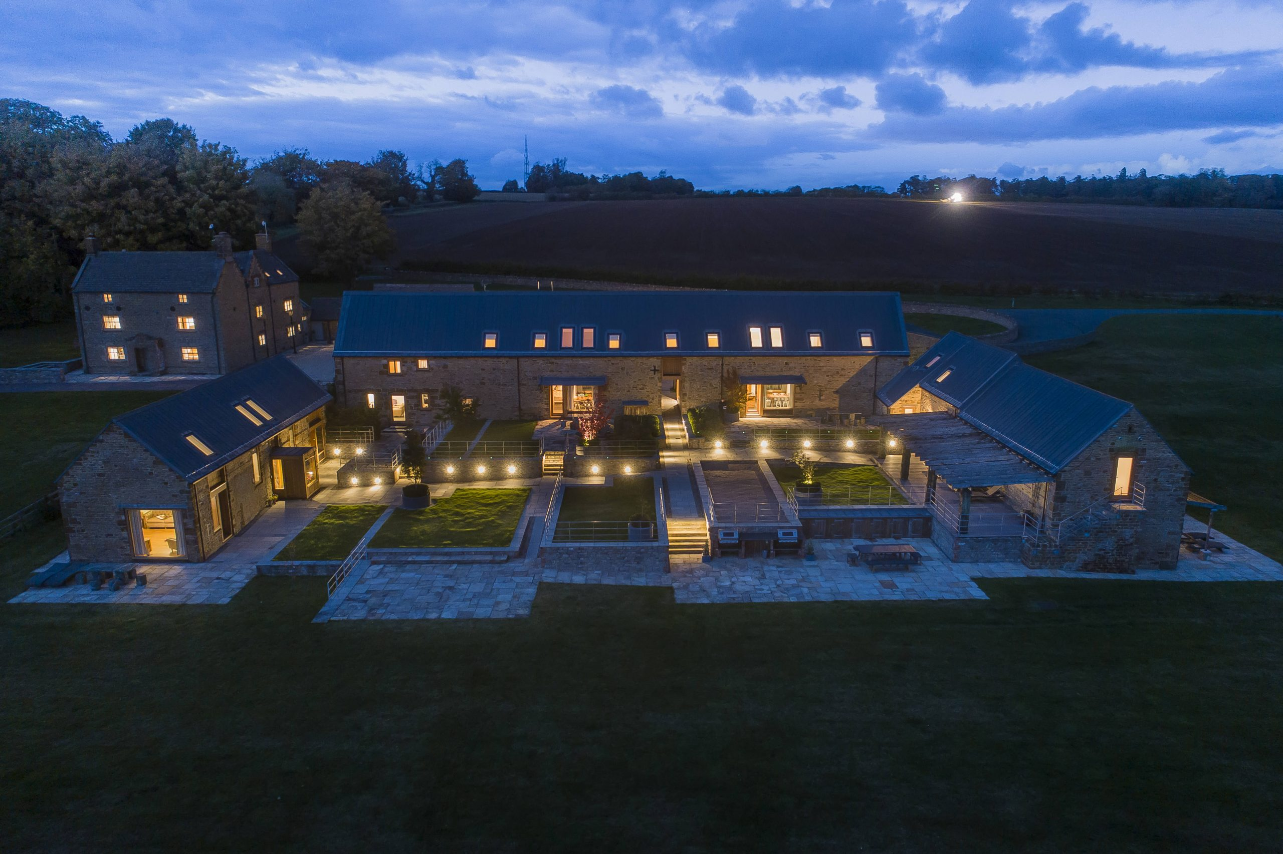 Luxury in the Cotswolds - Night Time